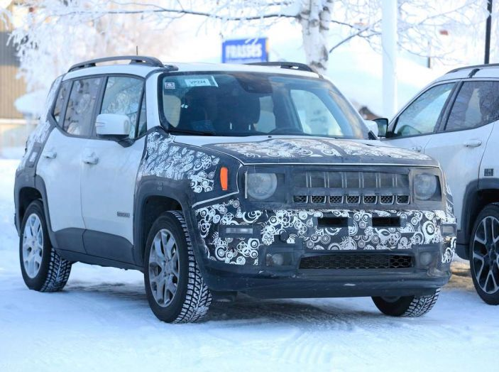 Jeep Renegade restyling 2019, prime immagini dei test - Foto 1 di 34