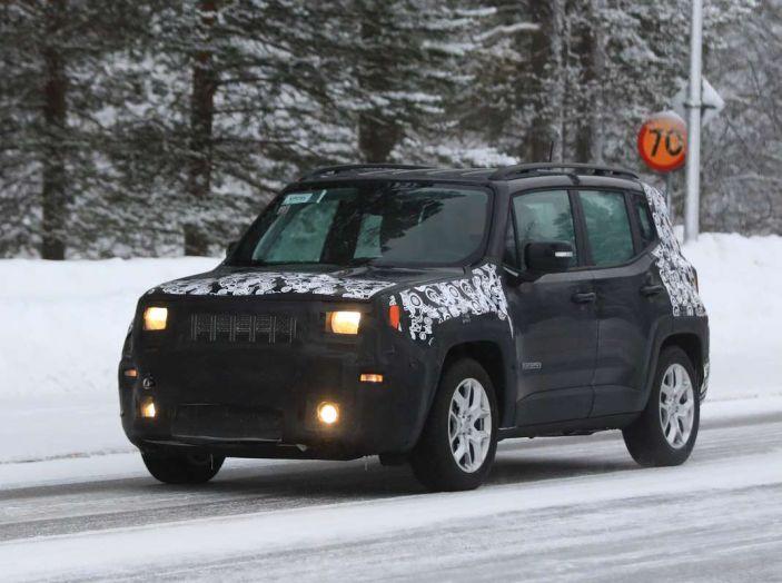 Jeep Renegade restyling 2019, prime immagini dei test - Foto 28 di 34