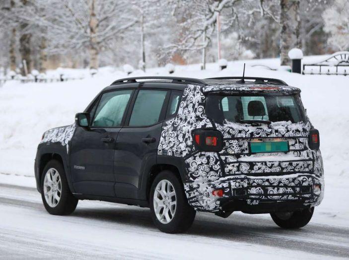 Jeep Renegade restyling 2019, prime immagini dei test - Foto 32 di 34