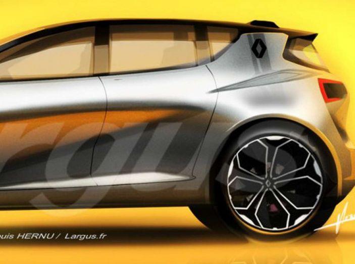 La futura Renault Clio 2019 avrà guida autonoma e sarà ibrida - Foto 5 di 5