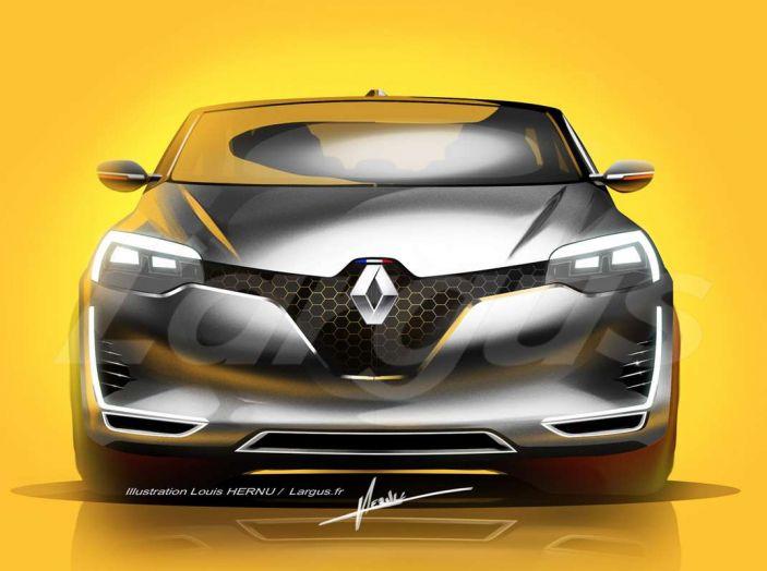 La futura Renault Clio 2019 avrà guida autonoma e sarà ibrida - Foto 2 di 5