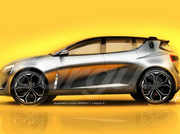 La futura Renault Clio 2019 avrà guida autonoma e sarà ibrida - Foto 3 di 5
