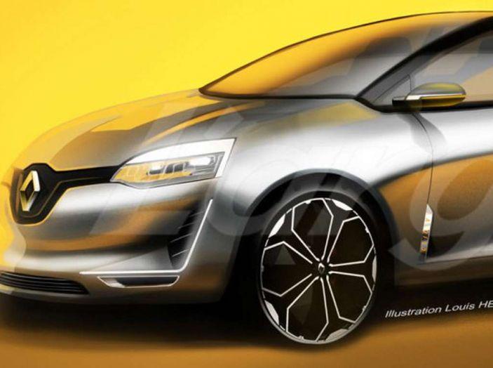 La futura Renault Clio 2019 avrà guida autonoma e sarà ibrida - Foto 4 di 5