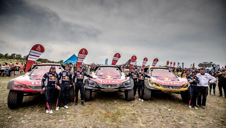 Despres e Castera, veloci e solidali con i compagni di squadra Peugeot - Foto  di