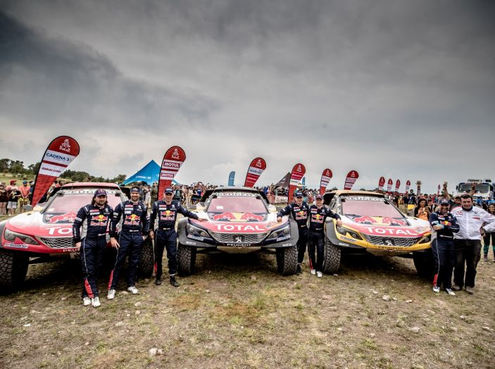 Prestazioni ed affidabilità per Peugeot alla Dakar 2018 - Foto 1 di 1