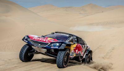 Dakar 2018 – inizio movimentato per le Peugeot 3008DKR Maxi