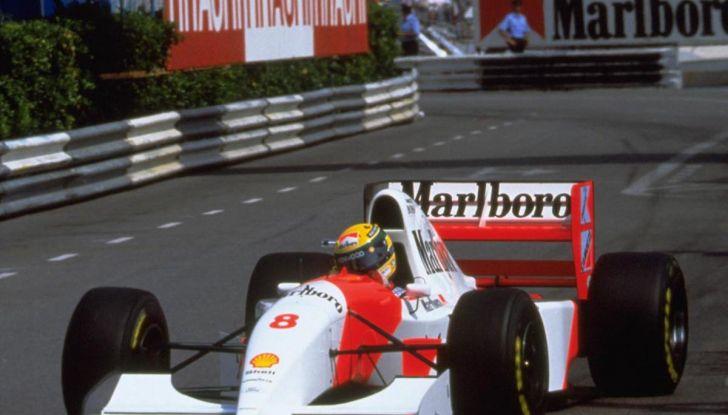All'asta la McLaren con cui Ayrton Senna vinse a Monaco nel 1993 - Foto 5 di 8