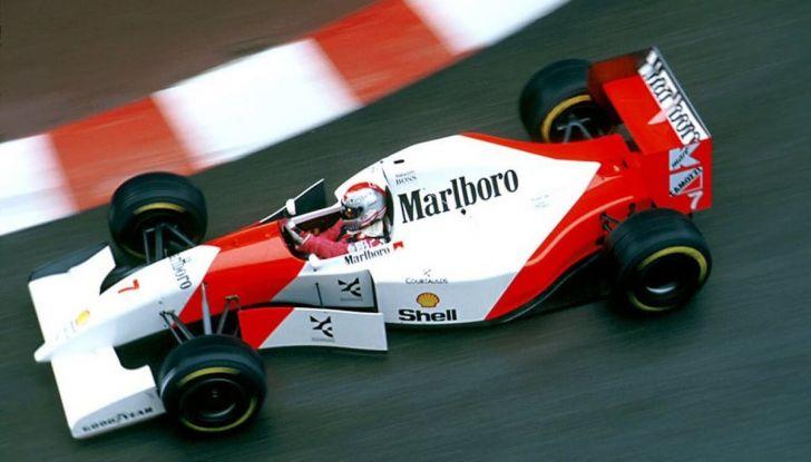 All'asta la McLaren con cui Ayrton Senna vinse a Monaco nel 1993 - Foto 6 di 8