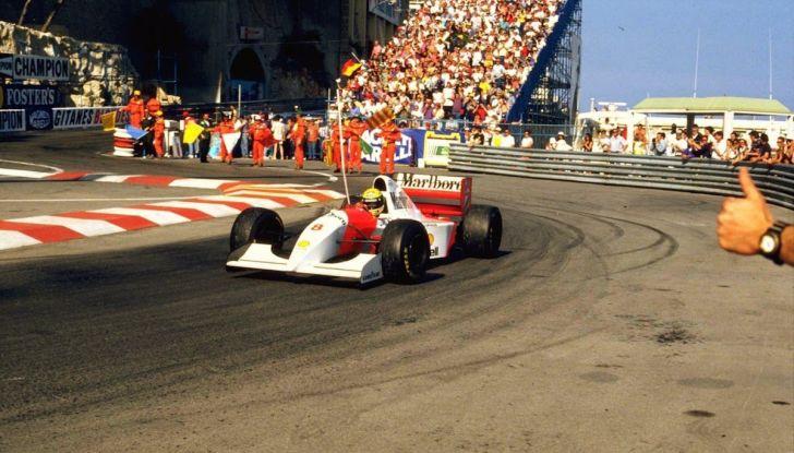All'asta la McLaren con cui Ayrton Senna vinse a Monaco nel 1993 - Foto 7 di 8