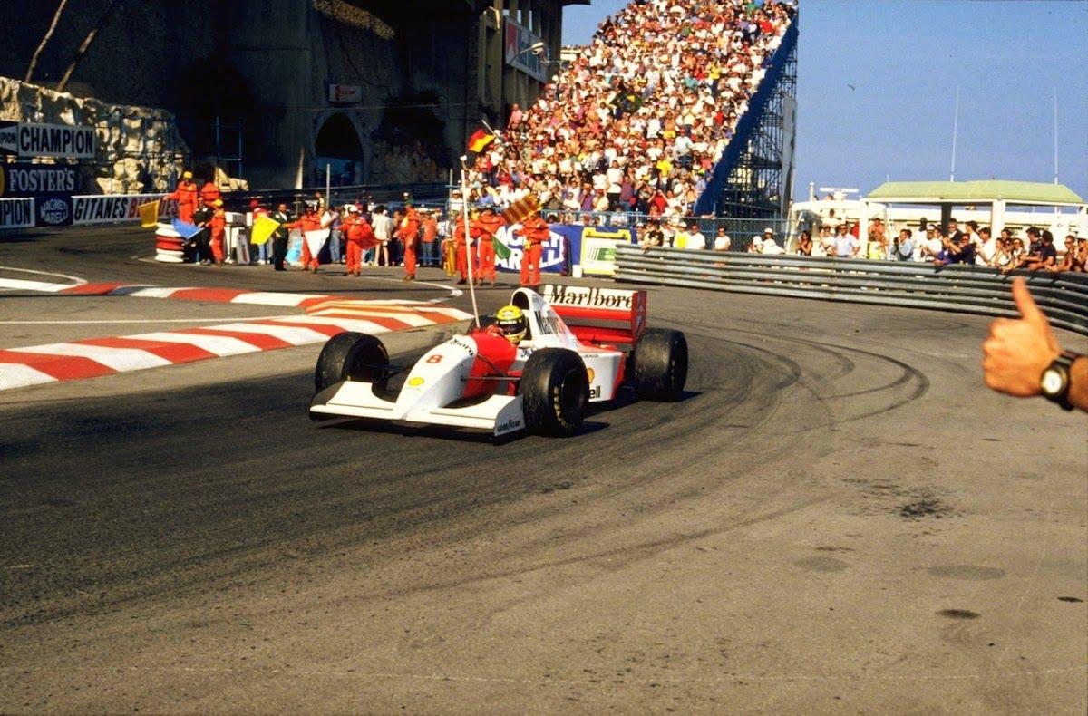 Ayrton Senna, the Master of Monaco