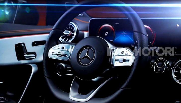 Nuova Mercedes CLA 2019, i dettagli della seconda generazione - Foto 10 di 27