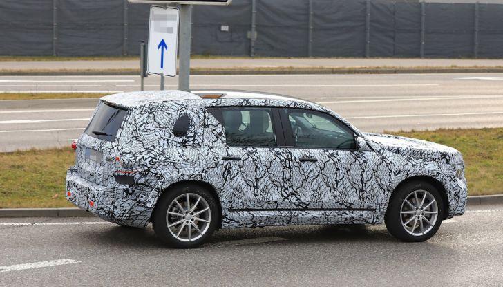 Mercedes GLB 2020, il nuovo SUV della Stella per ampliare la gamma - Foto 6 di 8