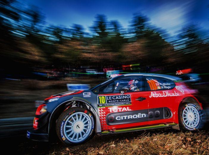 AVVIO IN SALITA PER LE C3 WRC - Foto 2 di 3