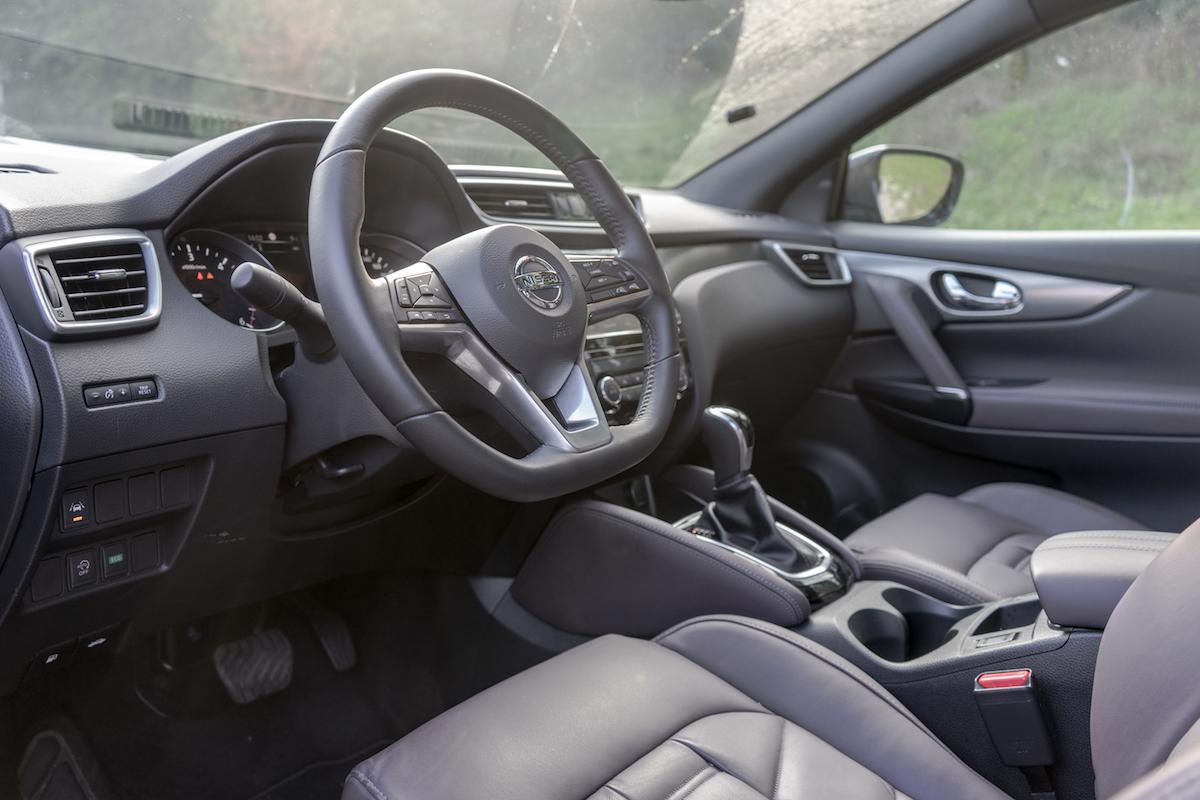 Nissan Qashqai 2017 Tekna + interni