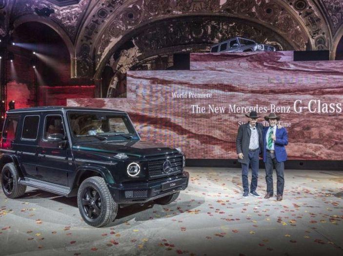 Nuova Mercedes Classe G 2018, prezzi e motori della regina dell'off-road - Foto 10 di 33