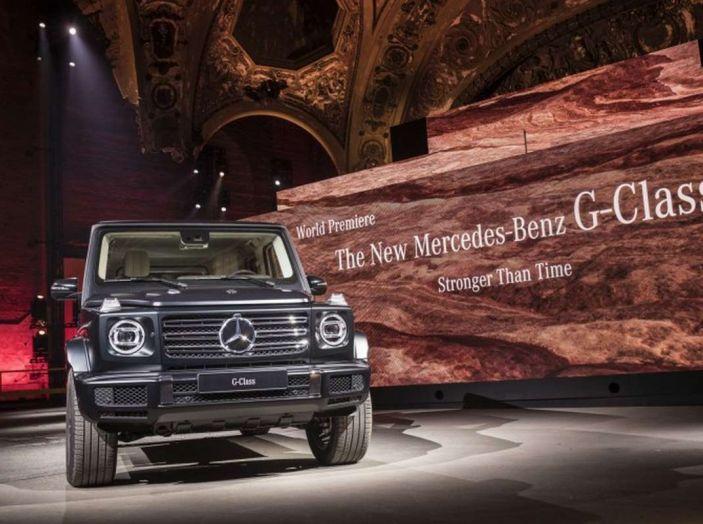 Nuova Mercedes Classe G 2018, prezzi e motori della regina dell'off-road - Foto 19 di 33