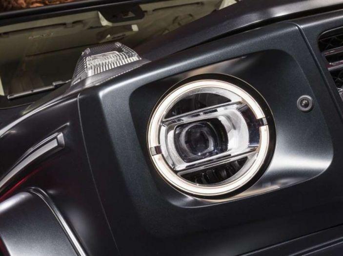 Nuova Mercedes Classe G 2018, prezzi e motori della regina dell'off-road - Foto 20 di 33