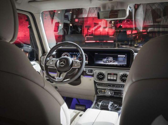 Nuova Mercedes Classe G 2018, prezzi e motori della regina dell'off-road - Foto 22 di 33
