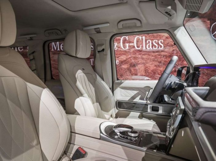 Nuova Mercedes Classe G 2018, prezzi e motori della regina dell'off-road - Foto 23 di 33