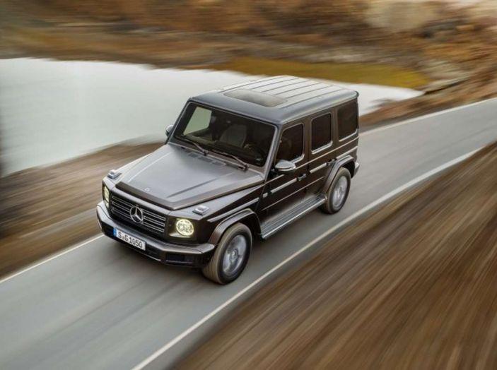 Nuova Mercedes Classe G 2018, prezzi e motori della regina dell'off-road - Foto 8 di 33