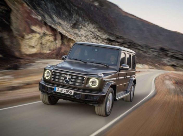 Nuova Mercedes Classe G 2018, prezzi e motori della regina dell'off-road - Foto 7 di 33