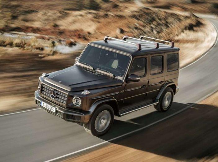 Nuova Mercedes Classe G 2018, prezzi e motori della regina dell'off-road - Foto 30 di 33