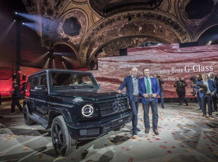 Nuova Mercedes Classe G 2018, prezzi e motori della regina dell'off-road - Foto 12 di 33