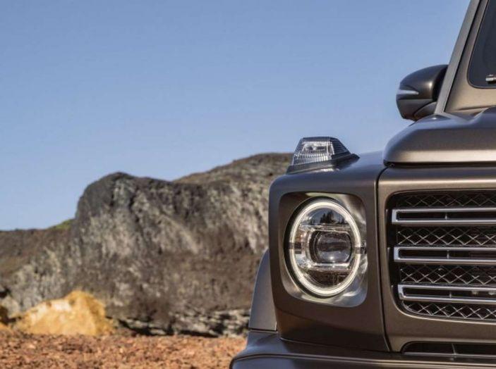 Nuova Mercedes Classe G 2018, prezzi e motori della regina dell'off-road - Foto 9 di 33