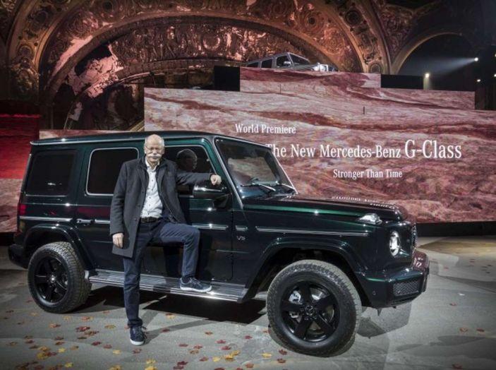 Nuova Mercedes Classe G 2018, prezzi e motori della regina dell'off-road - Foto 13 di 33