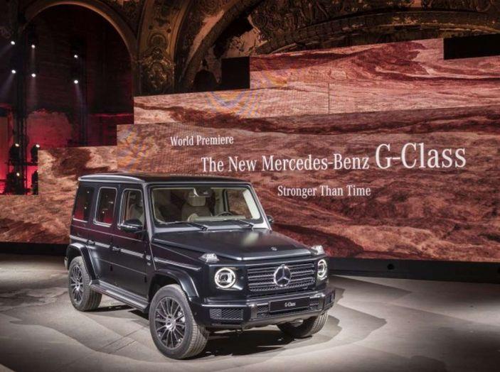 Nuova Mercedes Classe G 2018, prezzi e motori della regina dell'off-road - Foto 18 di 33