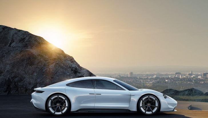 Il futuro elettrico di Porsche con Mission E, Ionity e l'ibrido Plug-In - Foto 3 di 6