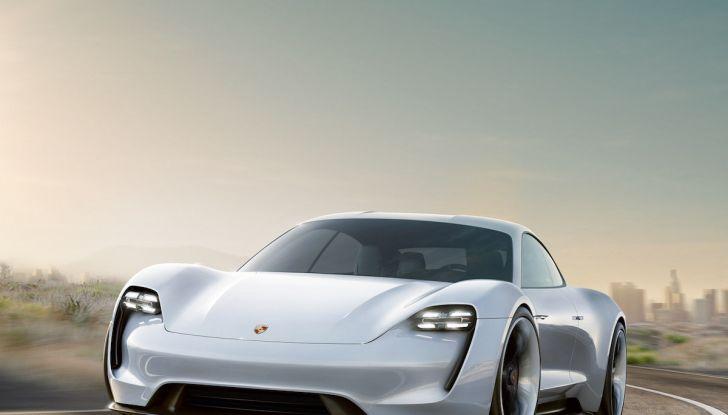 Il futuro elettrico di Porsche con Mission E, Ionity e l'ibrido Plug-In - Foto 5 di 6