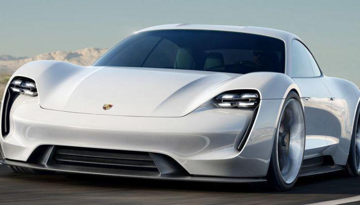Il futuro elettrico di Porsche con Mission E, Ionity e l'ibrido Plug-In - Foto 6 di 6