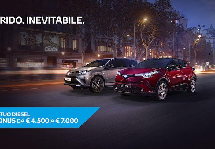 Promozioni SUV Toyota: fino a 7.000€ di sconto su C-HR e RAV4 Hybrid - Foto 6 di 8