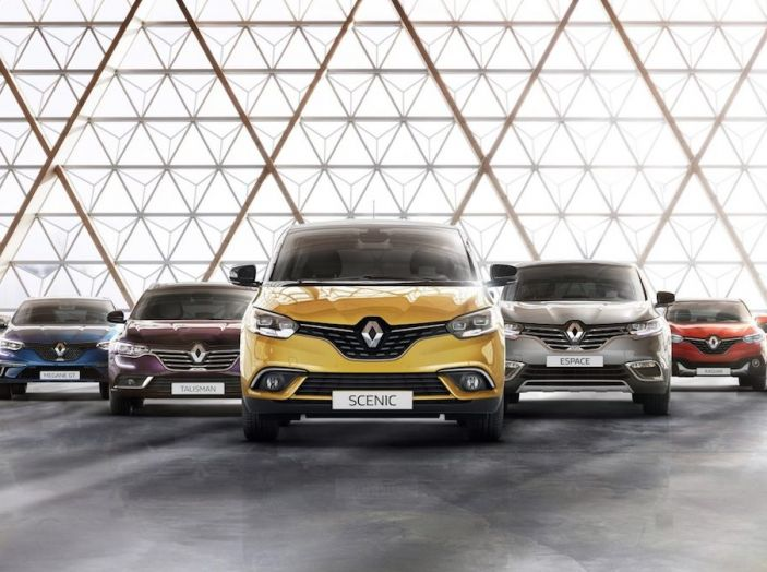 Il Gruppo Renault ha il 9,9% del mercato in Italia, non succedeva da 32 anni - Foto 1 di 12
