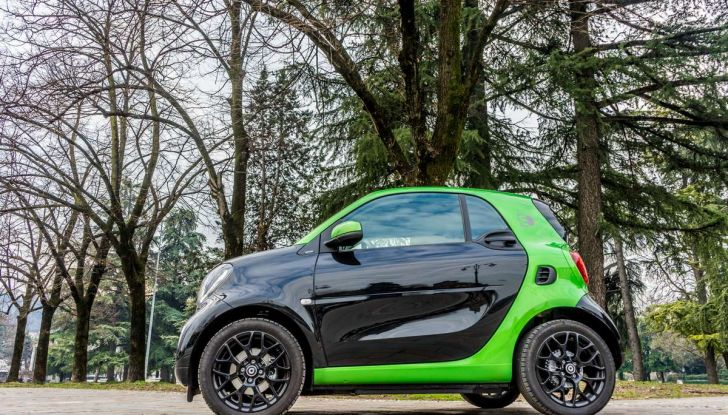 Smart ED: provata su strada la nuova Smart elettrica - Foto 17 di 48