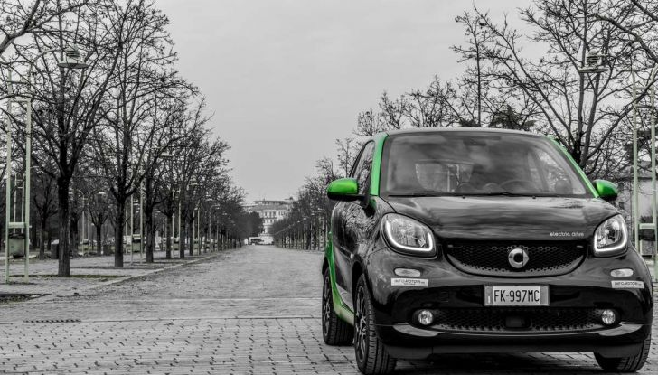 Smart ED: provata su strada la nuova Smart elettrica - Foto 18 di 48