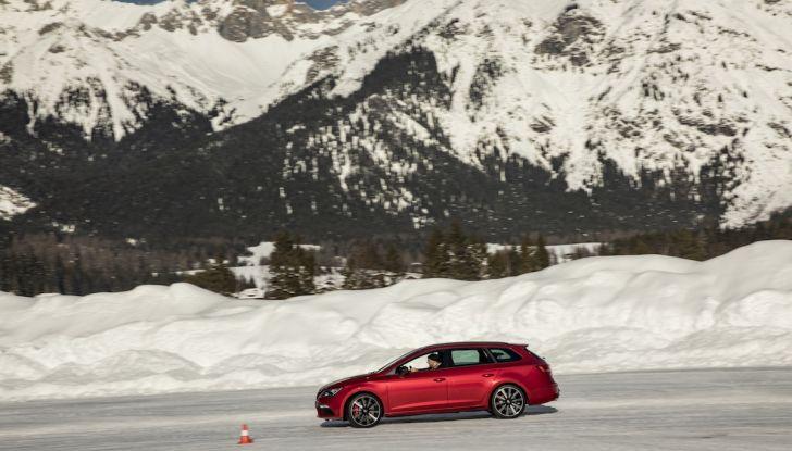 SEAT e la trazione integrale 4Drive, prova e recensione sulla neve - Foto 18 di 62