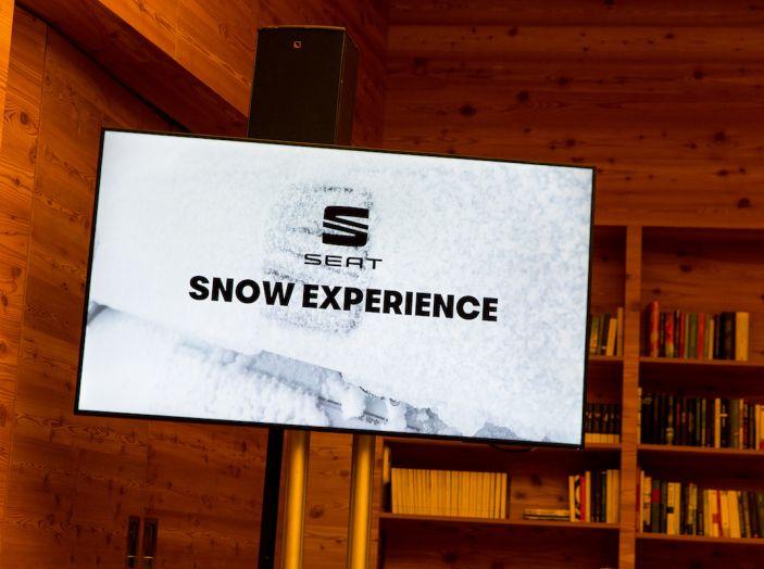 SEAT e la trazione integrale 4Drive, prova e recensione sulla neve - Foto 20 di 62