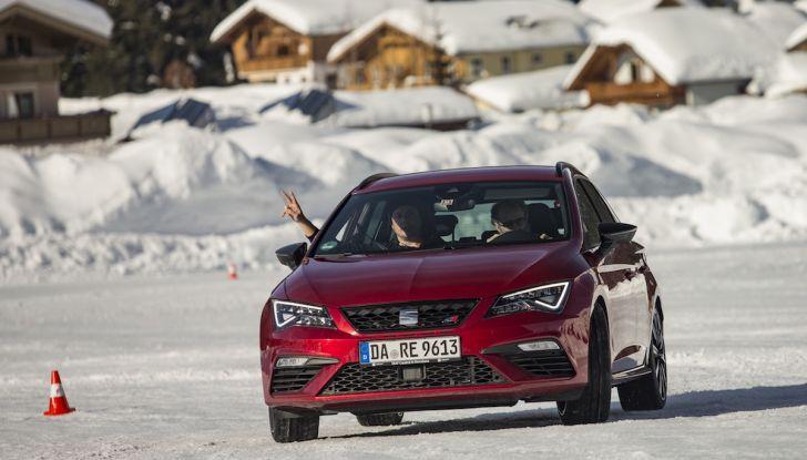 SEAT e la trazione integrale 4Drive, prova e recensione sulla neve - Foto 8 di 62
