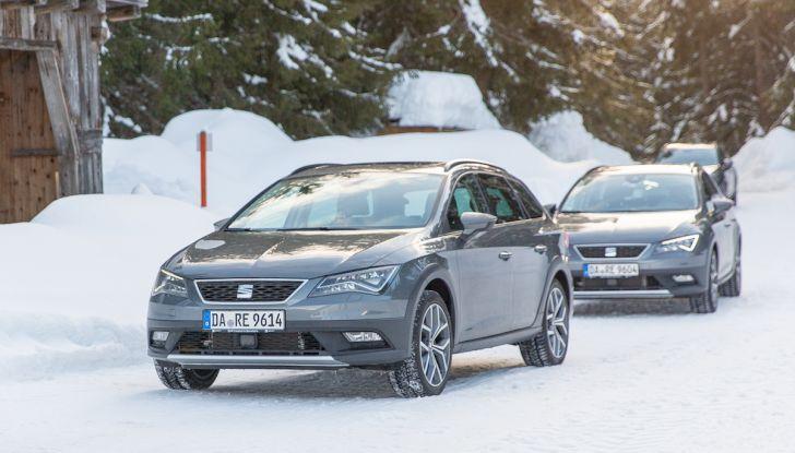 SEAT e la trazione integrale 4Drive, prova e recensione sulla neve - Foto 27 di 62