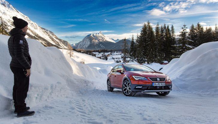 SEAT e la trazione integrale 4Drive, prova e recensione sulla neve - Foto 4 di 62