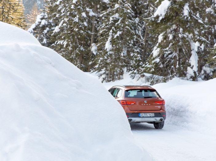 SEAT e la trazione integrale 4Drive, prova e recensione sulla neve - Foto 28 di 62