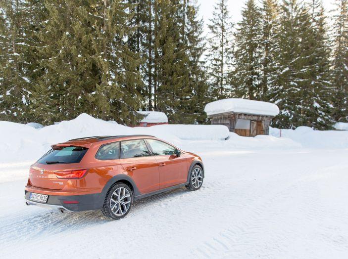 SEAT e la trazione integrale 4Drive, prova e recensione sulla neve - Foto 30 di 62