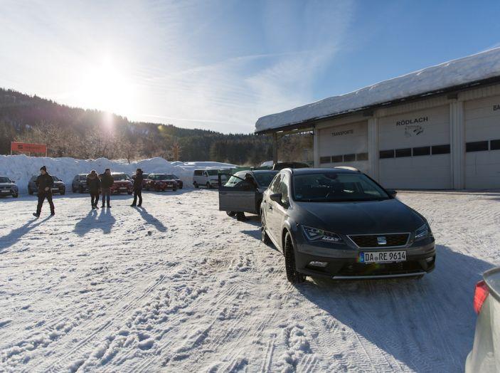 SEAT e la trazione integrale 4Drive, prova e recensione sulla neve - Foto 32 di 62