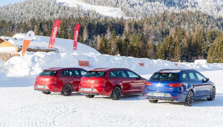 SEAT e la trazione integrale 4Drive, prova e recensione sulla neve - Foto 33 di 62