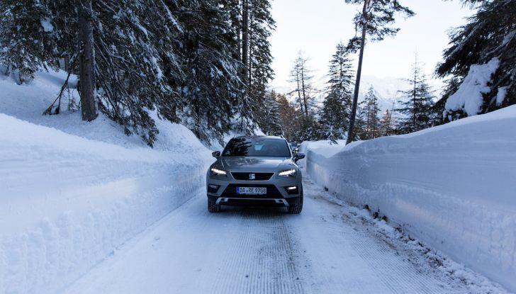 SEAT e la trazione integrale 4Drive, prova e recensione sulla neve - Foto 34 di 62
