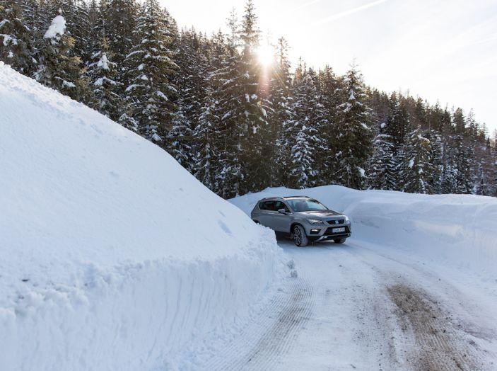 SEAT e la trazione integrale 4Drive, prova e recensione sulla neve - Foto 35 di 62