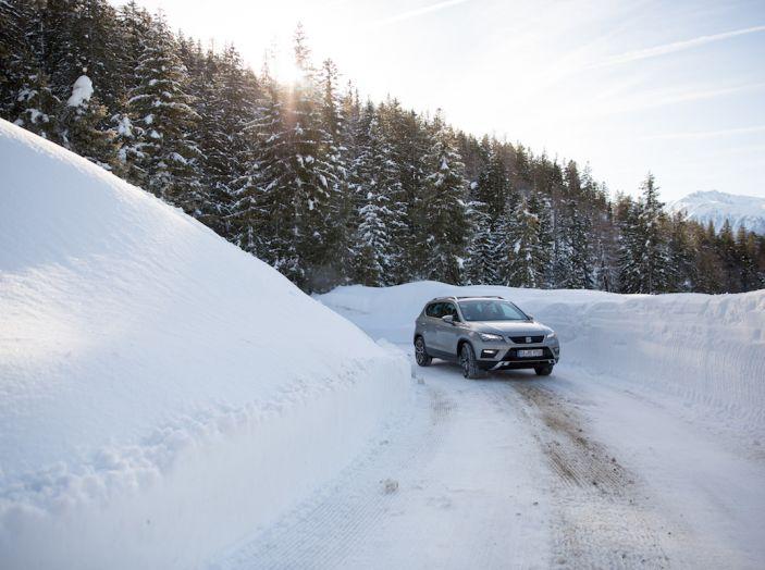 SEAT e la trazione integrale 4Drive, prova e recensione sulla neve - Foto 36 di 62