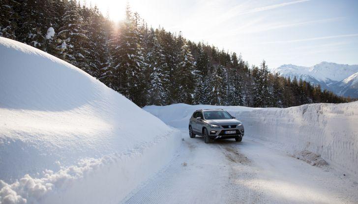 SEAT e la trazione integrale 4Drive, prova e recensione sulla neve - Foto 37 di 62